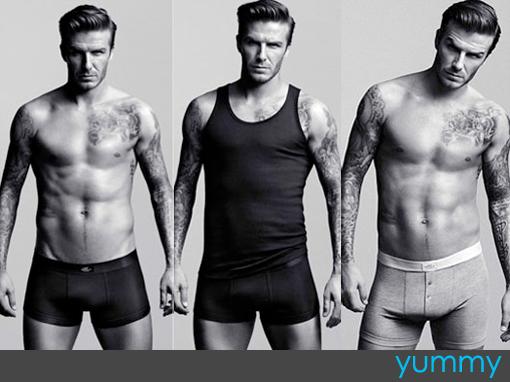 David Beckham, David Bekham Boxers, David Beckham H&M