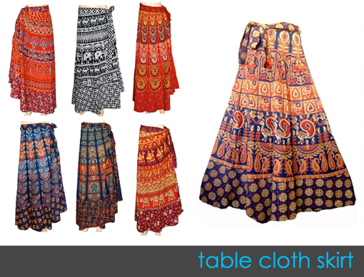 table cloth skirt